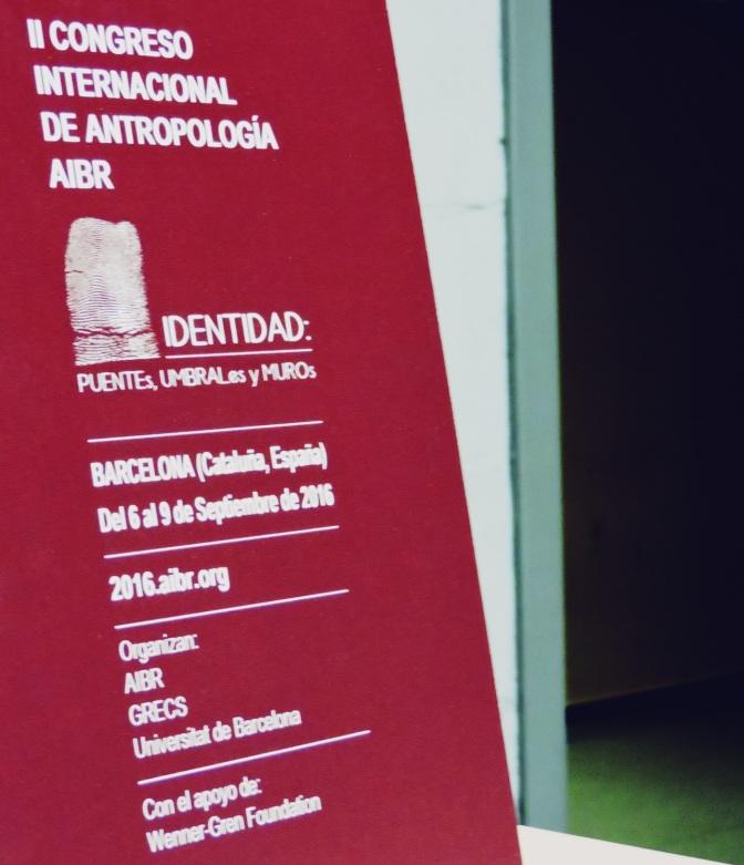 II Congreso Internacional de Antropología (AIBR)